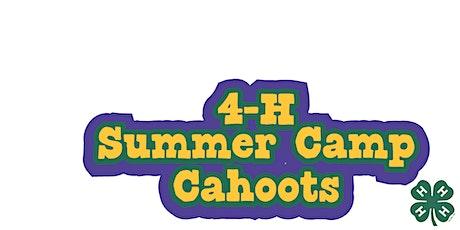 4-H Summer Camp Cahoots tickets