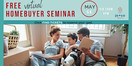 Free Virtual Homebuyer Seminar tickets
