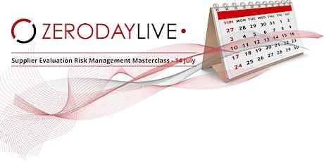 Supplier Evaluation Risk Management Masterclass tickets