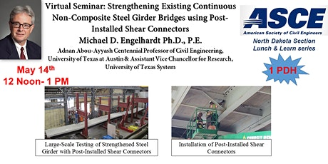 Strengthening Existing Continuous Non-Composite Steel Girder Bridges using tickets