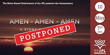 "Documentary ""Amen-Amen-Amen"" tickets"