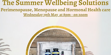 Women's Health and Hormones supported with Essential oils. tickets