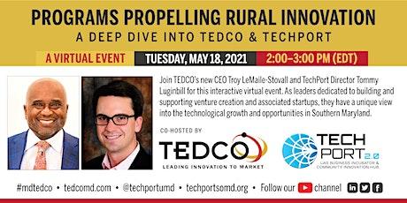 Programs Propelling Rural Innovation: A deep dive into TEDCO and TechPort entradas