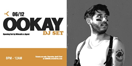 OOKAY Dj Set at Kabana Rooftop tickets
