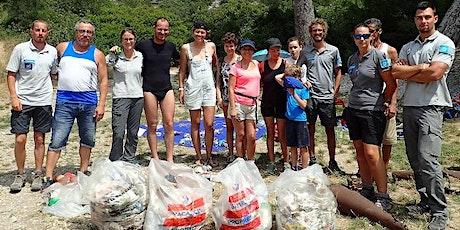 Ramassage éco-citoyen à Port-Pin et En-Vau billets