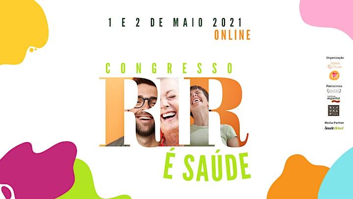 """imagem 4ª Edição do Congresso """"Rir é Saúde"""" - Portugal"""