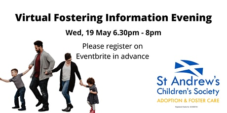 Virtual Fostering Information Evening tickets