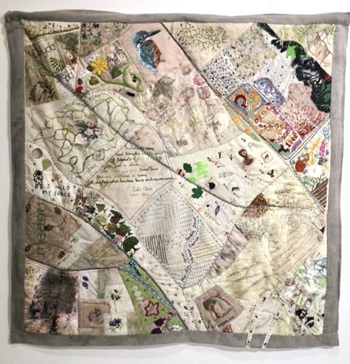 Northern Meadows Community Quilt talk by artist Cat Lewis image