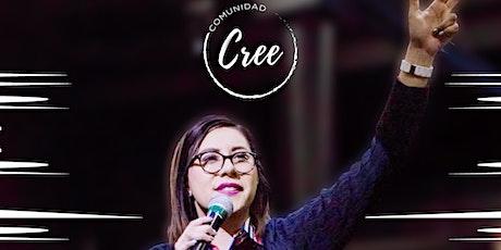MARIANA GONZÁLEZ EN COMUNIDAD CREE 11:30 a.m. boletos