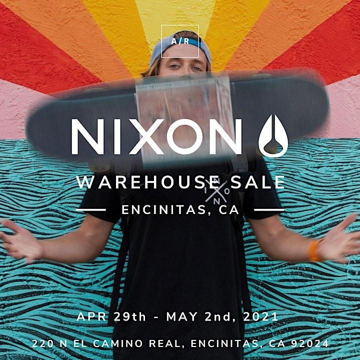 Nixon Warehouse Sale - Encinitas, CA image