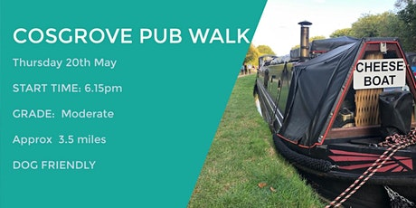 COSGROVE EVENING PUB WALK | 3.5 MILES | EASY | NORTHANTS tickets
