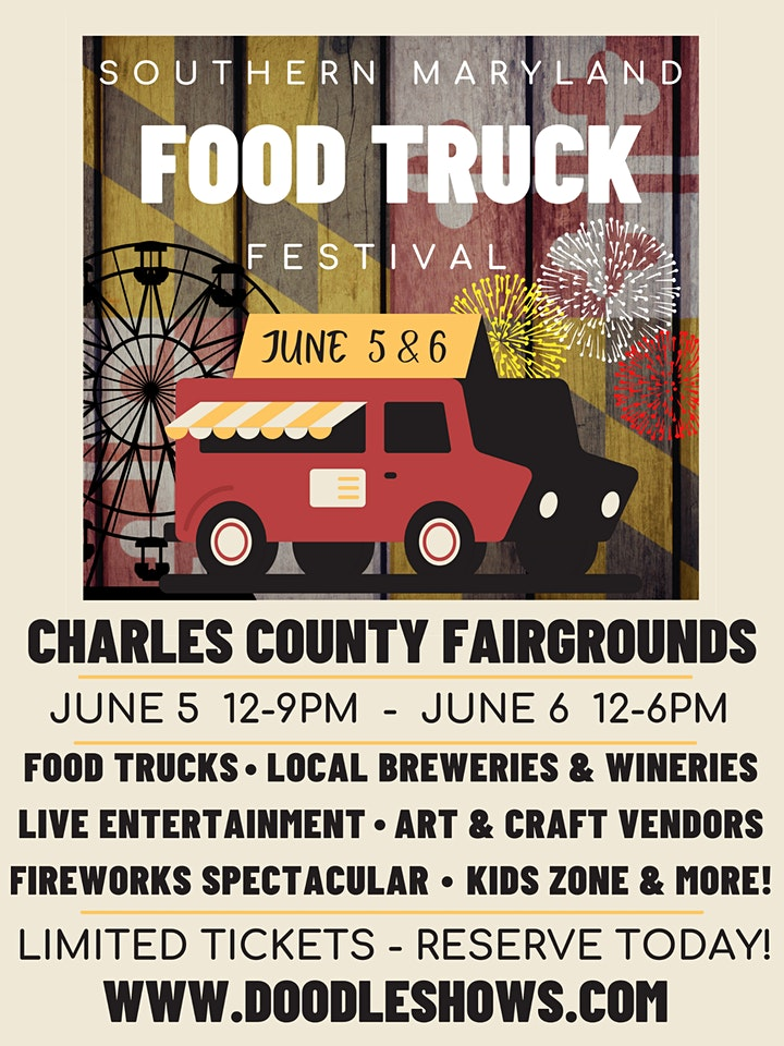 Southern Maryland Food Truck Festival! image