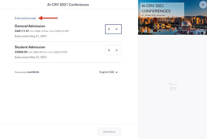 AI-CRV 2021 Conferences image