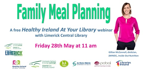 Family Meal Planning with Gillian McConnell (Inside Out Nutrition) tickets