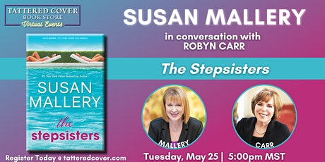 Live Stream with Susan Mallery in conversation with Robyn Carr tickets