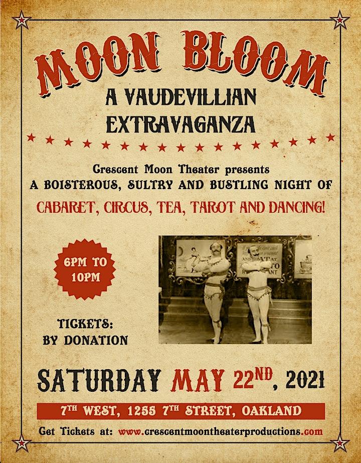 MOON BOOM:  a Vaudevillian Extravaganza image