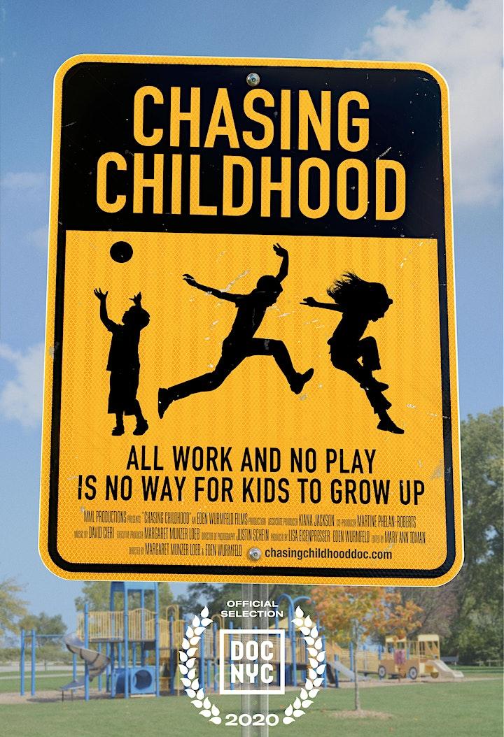 """Chasing Childhood"" presented by Menlo Atherton Nursery School image"