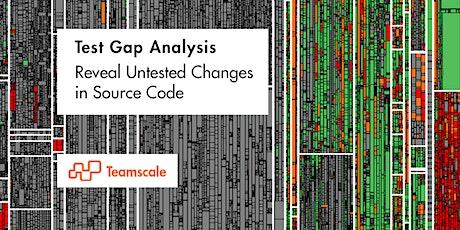 Workshop – Test Gap Analysis Tickets