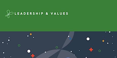 Leadership & Values Webinar tickets