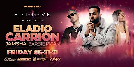 Eladio Carrion ft Jamsha & Barbie Rican |Believe Music Hall | Fri, May 21 tickets