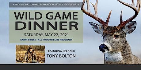 Antrim BIC Church Wild Game Dinner 2021 tickets