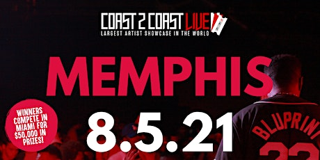 Coast 2 Coast LIVE Showcase Memphis - Artists Win $50K In Prizes tickets