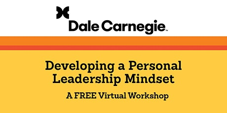 Developing a Personal Leadership Mindset tickets