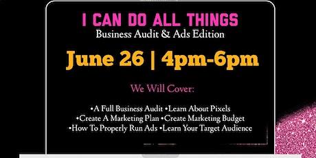Business Audit & Ads Edition biglietti