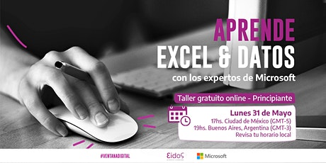 #VentanaDigital - Curso gratuito de Exely Datos | por Eidos y Microsoft entradas