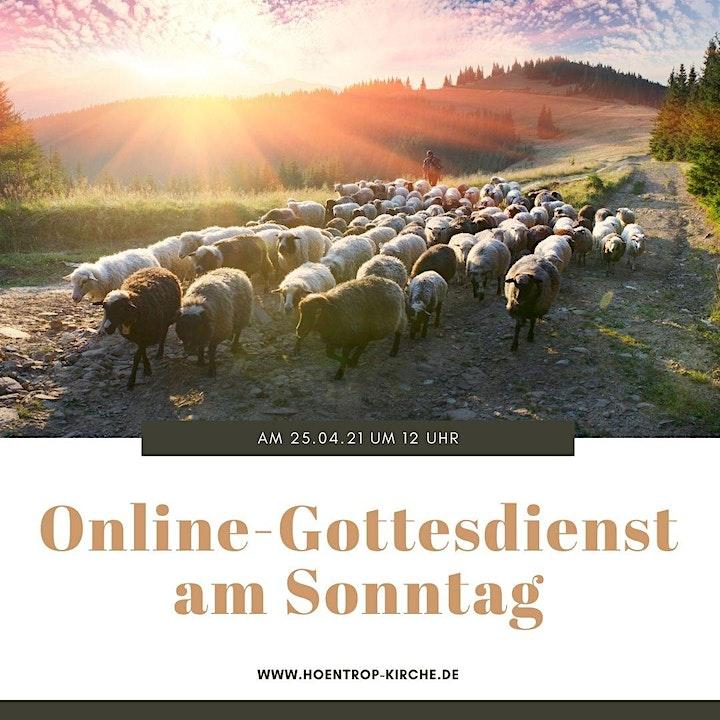 Sei kein Schaf: Online-Gottesdienst am Guter-Hirte-Sonntag: Bild