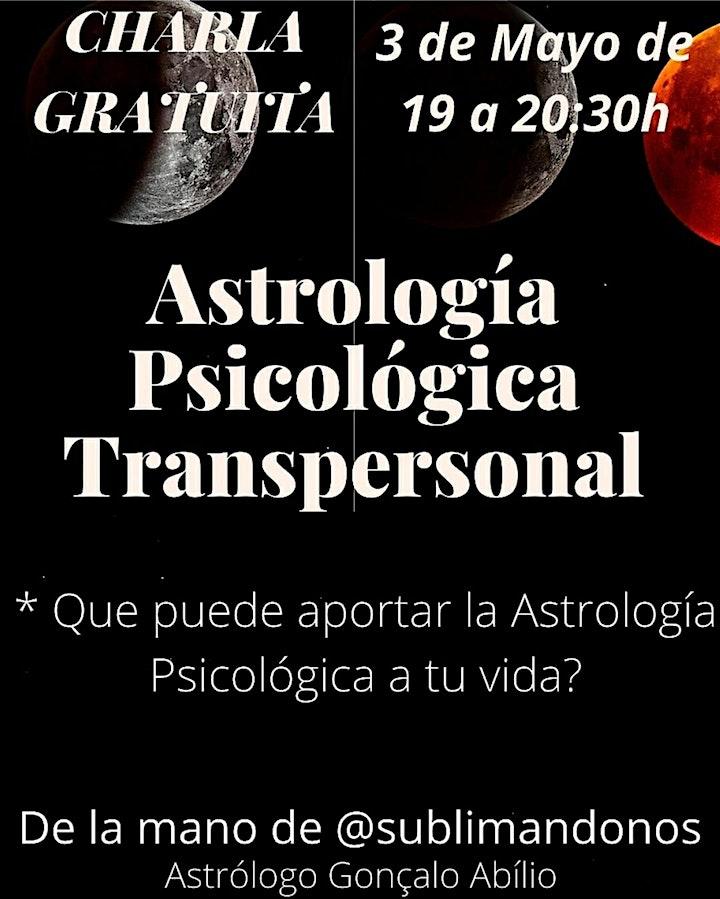 Imagen de Charla gratuita Astrología Psicológica Transpersonal