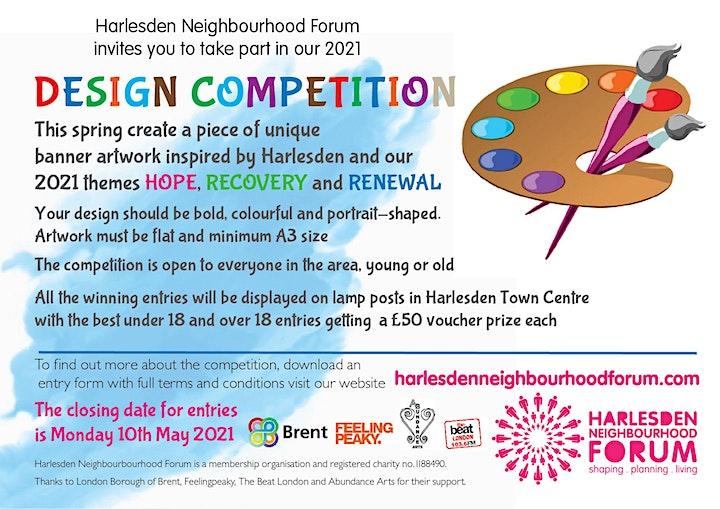 Art workshop - Harlesden wayfinding design competition image