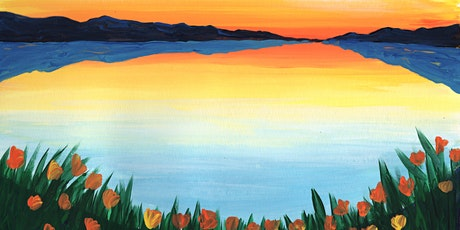 Virtual Paint & Sip - Spring Sunrise tickets