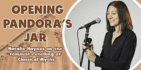 Opening Pandora's Jar: Natalie Haynes on feminist retellings of Greek Myth tickets