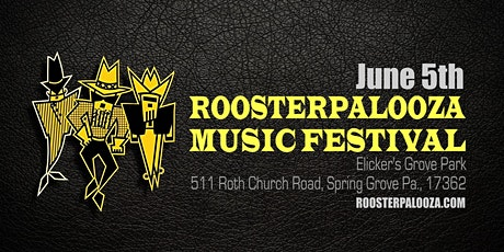 Roosterpalooza Music Festival tickets
