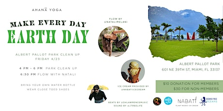 Park Clean up with Debris Free Oceans tickets