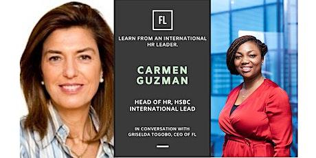 In Conversation With Carmen Guzman, Head of HR, HSBC tickets