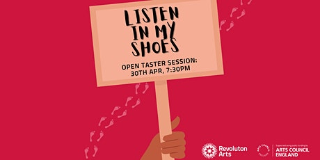 Listen In My Shoes Taster/Information Session tickets