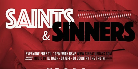 SIN Saturdays tickets