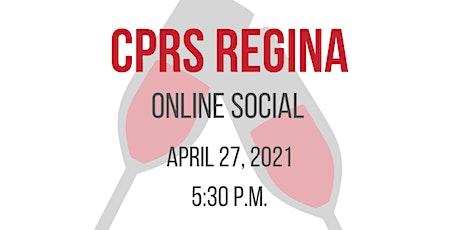 CPRS Regina Online Social tickets