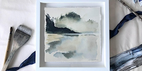 Virtual Painting Class:  Landscape Reflections in Watercolour! tickets