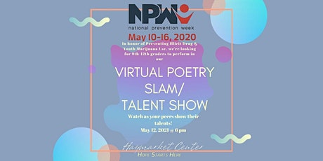 Virtual Poetry Slam/Talent Show tickets