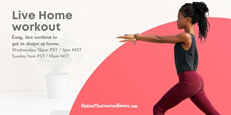 Live Home Workout tickets