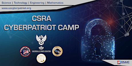 CSRA Virtual CyberPatriot Camp (STANDARD) tickets