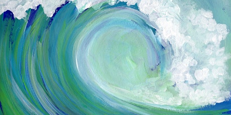 Virtual Paint & Sip - Catch a Wave tickets