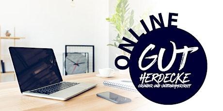 Gründer- und UnternehmerTreff Herdecke online im Mai Tickets