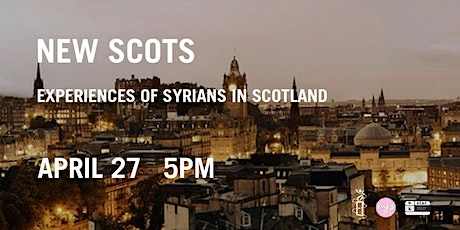 The Syrian Conflict: 10 Years On - Experiences of Syrians in Scotland tickets
