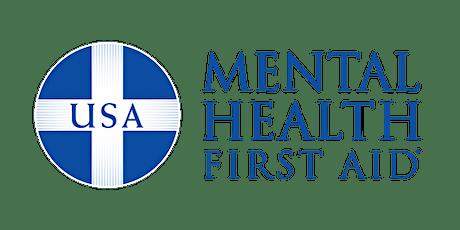 Mental Health First Aid Training tickets