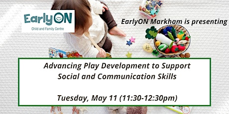 Advancing Play Development to Support Social and Communication Skills tickets