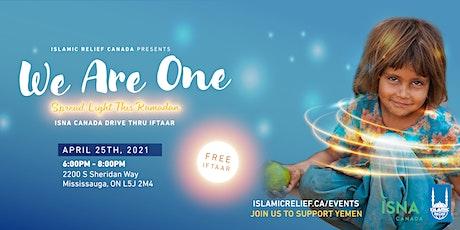 ISNA Canada Drive Thru Iftaar tickets
